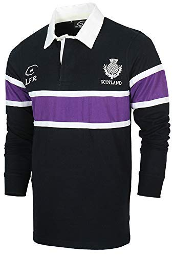 591f2d388 Scotland Thistle Long Sleeve Rugby Jersey (L)
