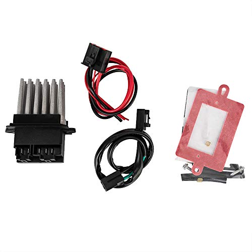 Blower Motor Resistor With Automatic Temperature Control for 1999-2004 Jeep Grand Cherokee -5012699AA 05012699AA RU-358