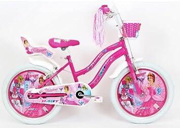 fe859195b Bicicleta holandesa para niña 50.8 cm Altec Princes Coranna rosa:  Amazon.es: Deportes y aire libre