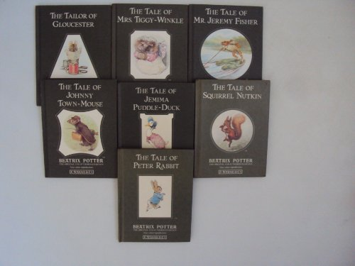 The World of Peter Rabbit Mini Hardcover Book Set : The Tale of Peter Rabbit - The Tale of Jemima Puddle Duck - The Tailor of Gloucester - The Tale of Mrs. Tiggy Winkle (The Tale of Mr. Jeremy Fisher, The tale of Johnny Town Mouse, The tale of Squirrel Nutkins) (Mini Gloucester)