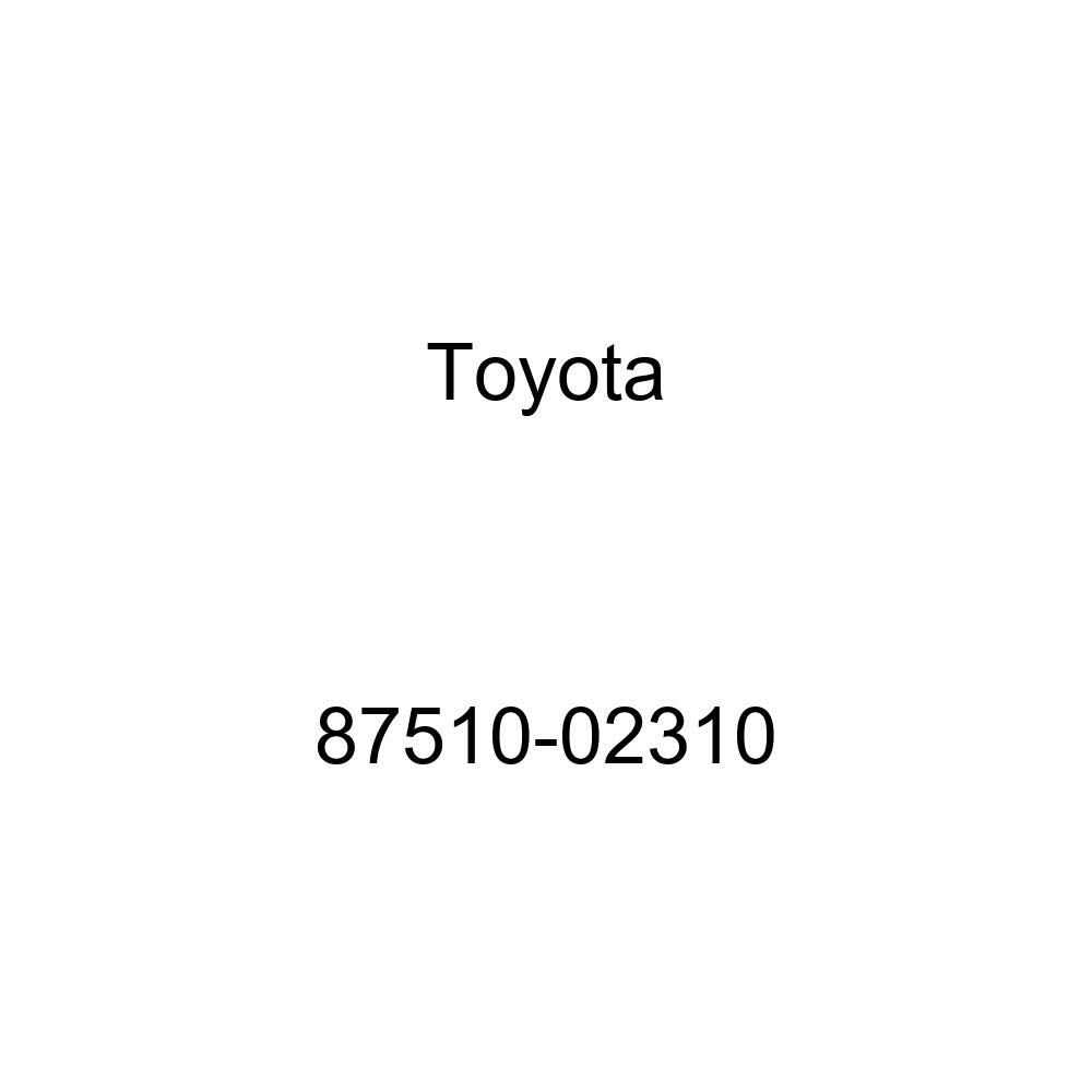 TOYOTA Genuine 87510-02310 Seat Cushion Heater Assembly