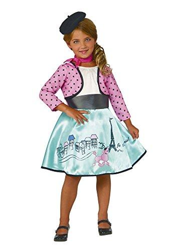 Rubie's Costume Petite Parisienne Deluxe Child Costume, Medium