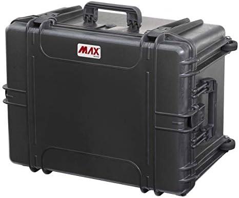 Max MAX620H340S IP67 resistente al agua nominal de tapas rígidas para fotografía equipo estanca resistente caja de transporte para iMac de transporte caja de herramientas/Tirador/Transit plástico funda/espuma de poliuretano de: Amazon.es: Bricolaje