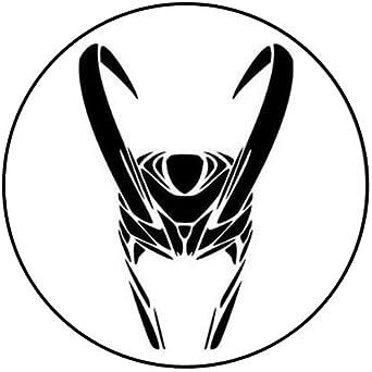 Loki - Marvel - insignia/Imán/llavero/llavero abrebotellas ...