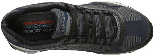 Walking AIR Shoes M Men's Navy Skechers FIT Black wpqIwt