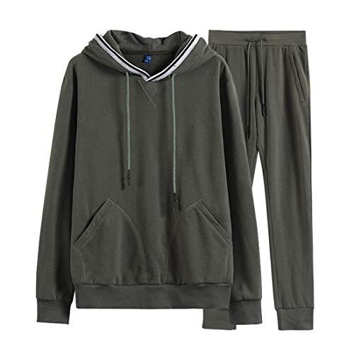 color Size Nuovo In L Green Caldo Maglione Sportivo Cotone Primavera Abito Solido Hemotrade Uomo Black Casual Da Colore UqO7f