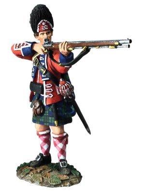 W. Britain 16050 British 42nd Royal Highland Grenadier Standing Firing No. 1