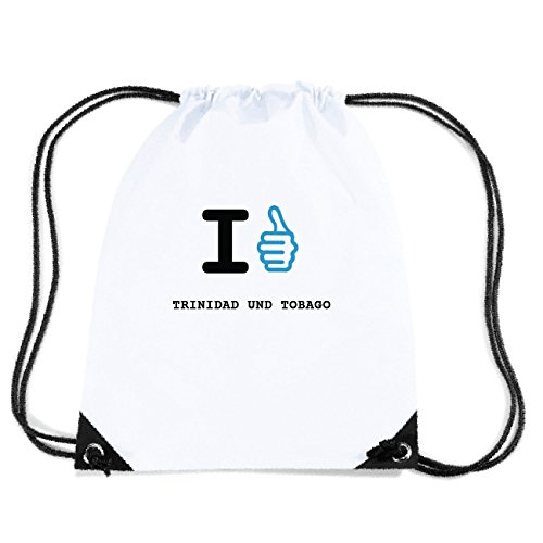 JOllify TRINIDAD UND TOBAGO Turnbeutel Tasche GYM4964 Design: I like - Ich mag TxLDZXntn