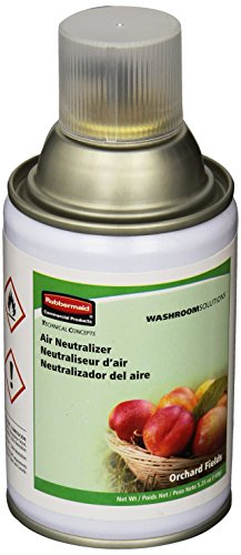Rubbermaid Commercial Standard Aerosol Refill with Orchard Fields (FG4009841) (Refill Neutralizer Aerosol Air)