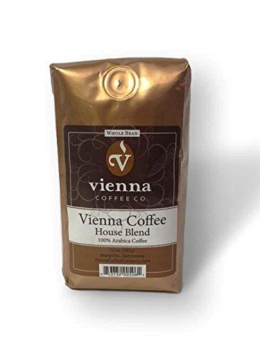 Whole Bean Coffee Medium Roast – Arabica Roasted 12 oz. Bag by Vienna Coffee Co.