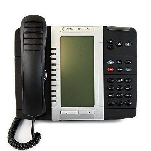 - Mitel 5330E IP Phone, PoE, Gigabit (50006476)