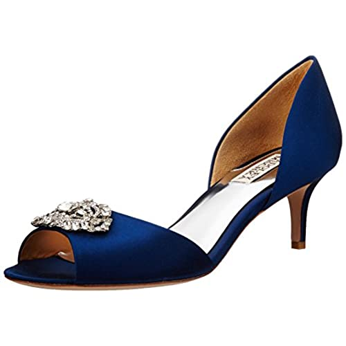 Navy Bridal Shoes: Amazon.com
