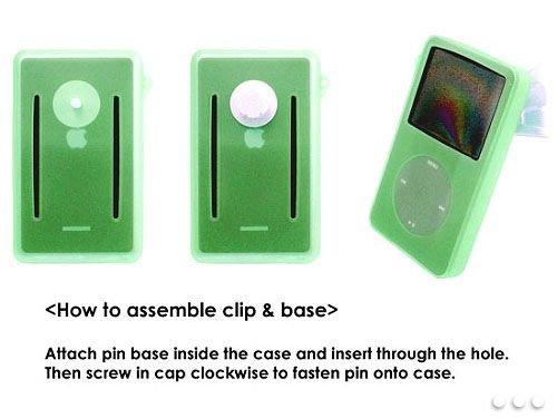 Cellet iPOD Video 60GB 80GB Green Silicon Case Ipod Video Silicon Case