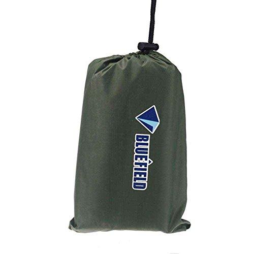 bluefield 180x220cm Oxford Gewebe Picknick Decke,Stranddecke,Campingdecke,Isomatte dunkelgruen