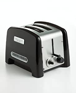 KitchenAid KPTT780OB 2-Slot, 2-Slice Toaster, Onyx Black