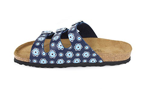 Sandals Paris Softbedded SynSoft N JOYCE Cork JOE Slippers Women Bloomsblue atCpwCq