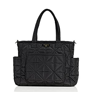 TWELVElittle Carry Love Tote Diaper Bag, Black
