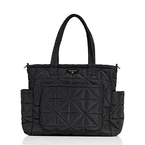 - TWELVElittle Carry Love Tote Diaper Bag, Black
