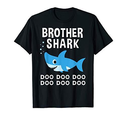 Brother Shark Doo Doo Shirt for Matching Family Pajamas