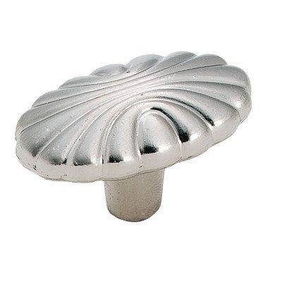 Natural Elegance Oval Knob Finish: Sterling Nickel