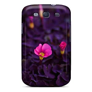 lintao diy Galaxy S3 Case Cover Pink Petite Flowers Case - Eco-friendly Packaging