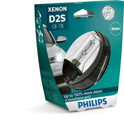 PHILIPS Xenon X-TremeVision Gen2 +150% D2S HID Xenon Bulbs Set Of Two 85122XV2S1