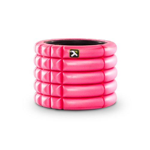 TriggerPoint Grid Foam Roller with Free Online Instructional Videos, Mini (4-inch), Pink