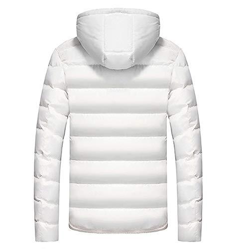 Sumen Men Hooded Winter Warm Cotton Quilted