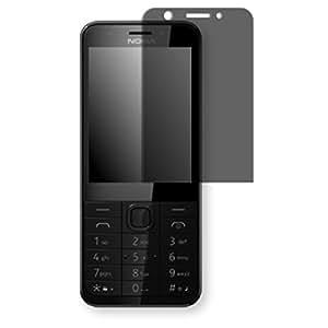 Lámina de protección Golebo negro contra miradas laterales para Microsoft Nokia 230 - PREMIUM QUALITY