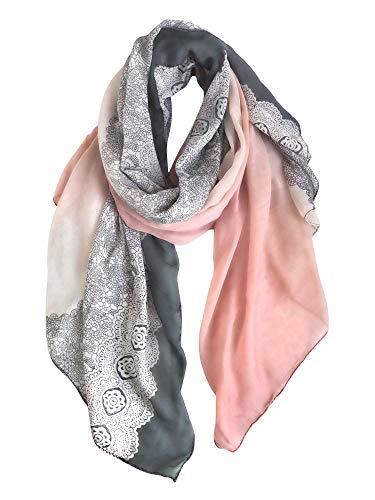 丝巾,装点细节美丽!Gerinly 蕾丝长围巾