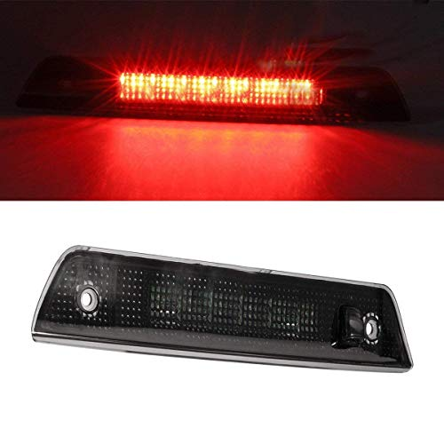 Smoked Lens 3rd Brake Light High Mount Stop Light Rear Tail Light for 2005-2010 Jeep Grand Cherokee Truck Pickup - 3rd Light Brake Smoked