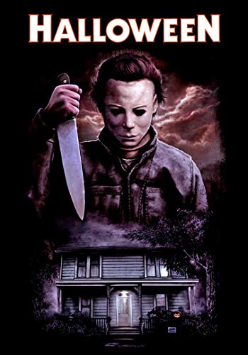 Halloween Movie Posters (briprints Halloween Michael Myers Horror Scary Movie Poster Print Size 24x18 Decoration semi Gloss)
