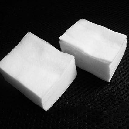 200 almohadillas quitaesmalte de uñas de gel UV de algodón para ...