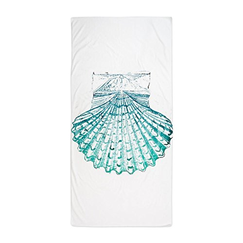 YuYui-Beach-Turquoise-Sea-Shells-Microfiber-HandFace-Towel-2-Pack
