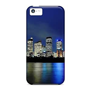 Awesome TTc1605aCNT TianMao Defender Tpu Hard Case Cover For Iphone 5c- Sydney Silky Reflection