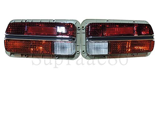 Set of Tail Lamp Assembly w/Amber Signal Light For 1970-1973 70-73 Datsun 240z 220-24152R