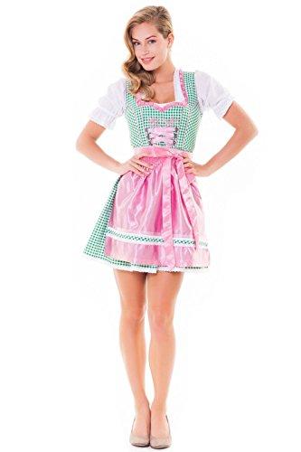 camicia 32 Tales taglia 3071 3tlg Alps rosa Set Abito da Alm completo verde 46 Dirndl grembiule p10wvxwqf
