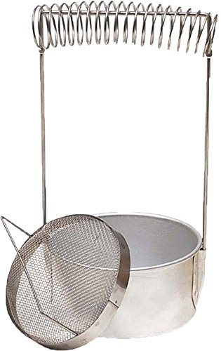 """6.5"""" X 4"""" ARTIST'S BRUSH WASHER WITH SPIRAL DRYING RACK"""