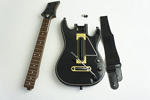 Guitar Hero Live Wireless Guitar Controller 0000654 For PS3 With Dongle & String (Best Guitar Hero Game)