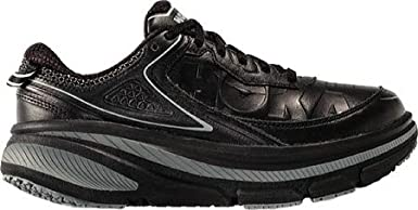 3847e7bd26ade Amazon.com: Hoka One One Women's Bondi 4 LTR Road Running Shoe,Black ...