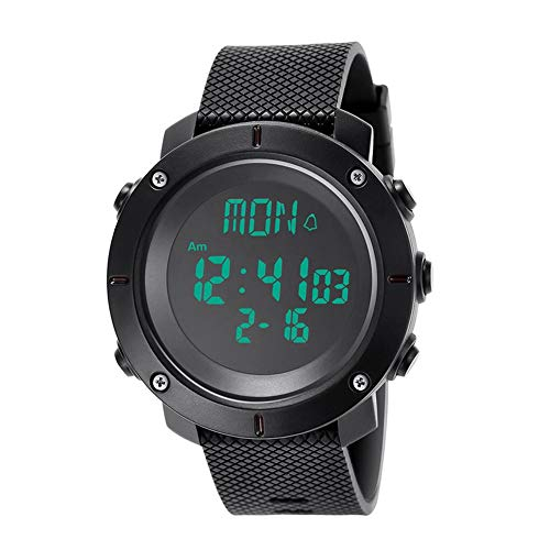 (VOVI Mens Sports Digital Watches - Outdoor Waterproof Sport Watch with Alarm/Timer, Big Face Military Wrist Watches with LED Backlight for Running Men)