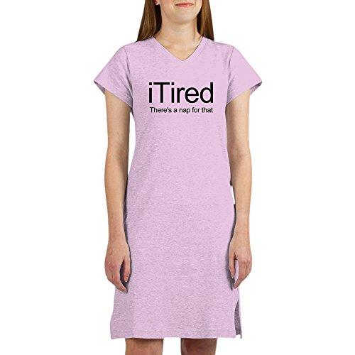 Tired Sleepshirt (CafePress - I Tired - Women's Nightshirt, Soft Long Pajama Shirt, Cotton PJs / Pyjamas)