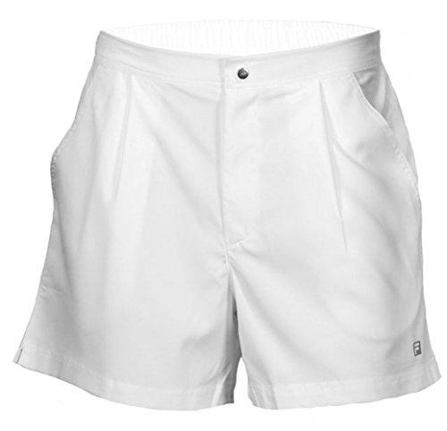 59185b662333 Fila Men's Fundamental Santoro Shorts, White, L - Buy Online in Oman. |  Apparel Products in Oman - See Prices, Reviews and Free Delivery in Muscat,  Seeb, ...