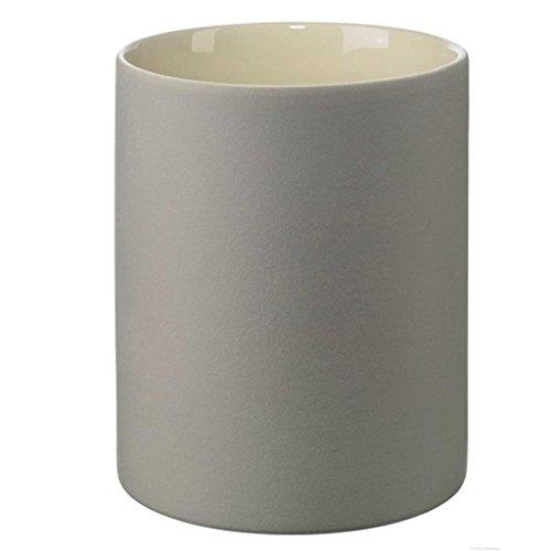 ASA 2592241 Vase Keramik, 19 x 15,5 x 19 cm, grau