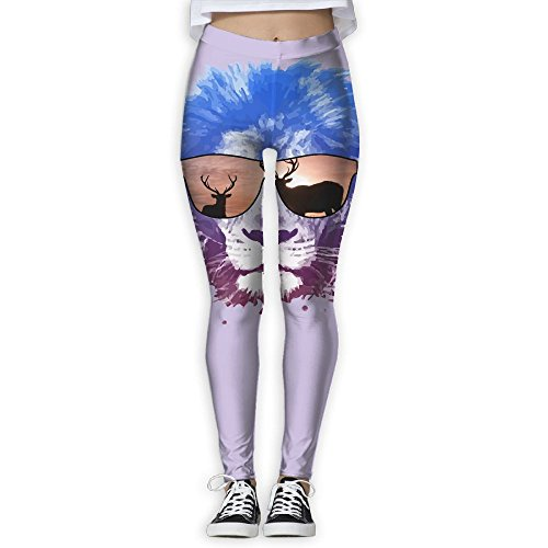 (Cool Lion Hunting Women's Stretchable Sports Running Yoga Workout Leggings Pants S)
