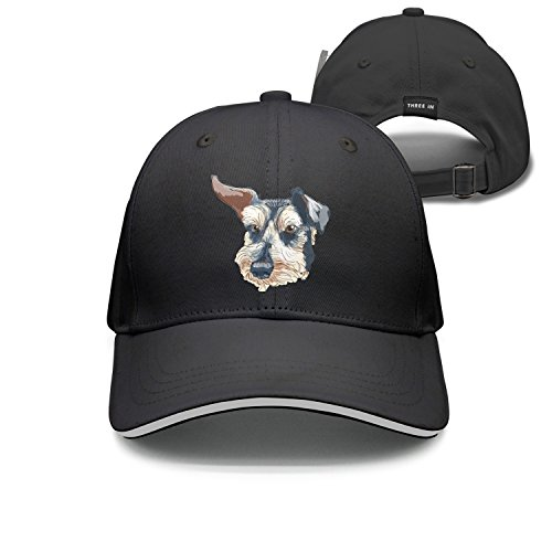 jrw5dfg498p Cap Schnauzer Puppies German Shepherd Pet Unisex Cap Cute Stylish Casual Simple Funny Personality Fashion Travel ()