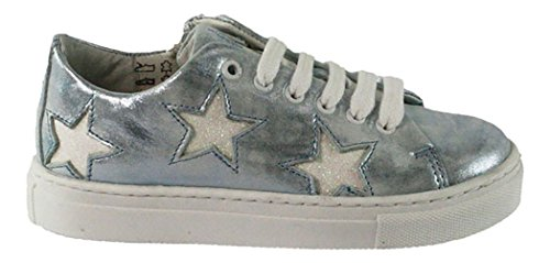 Pinoccio | HIP Sneaker | Schnürschuh | Stern - hellblau Blau