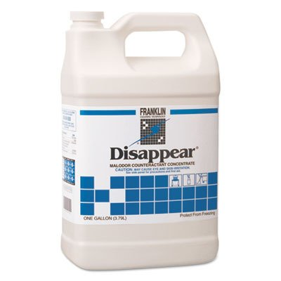 Franklin Cleaning Technology F510522 Disappear Concentrated Odor Counteractant, Spring Bouquet Scent, 1 Gallon (Case of 4)