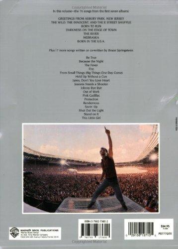 Amazon Bruce Springsteen Complete Guitarvocalchords