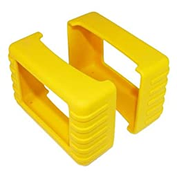 82 Series Rubber Boot Size 6 - Yellow (Pair) - 1.75 Inch X 4.75 Inch X 3.25 Inch